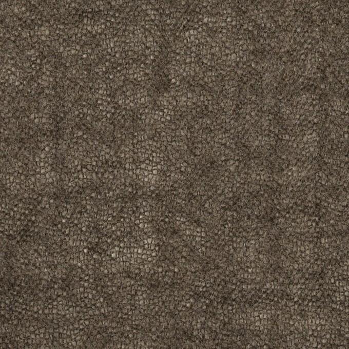 ウール×無地(アッシュブラウン)×ガーゼ_全3色 イメージ1