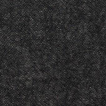 ウール×無地(チャコール)×ガーゼ_全3色