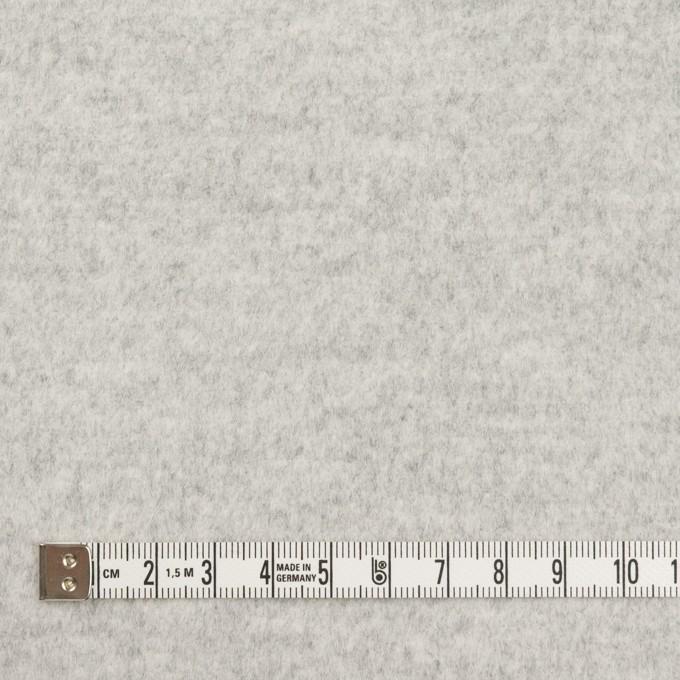 ウール&アンゴラ×無地(ライトグレー)×ビーバー イメージ4