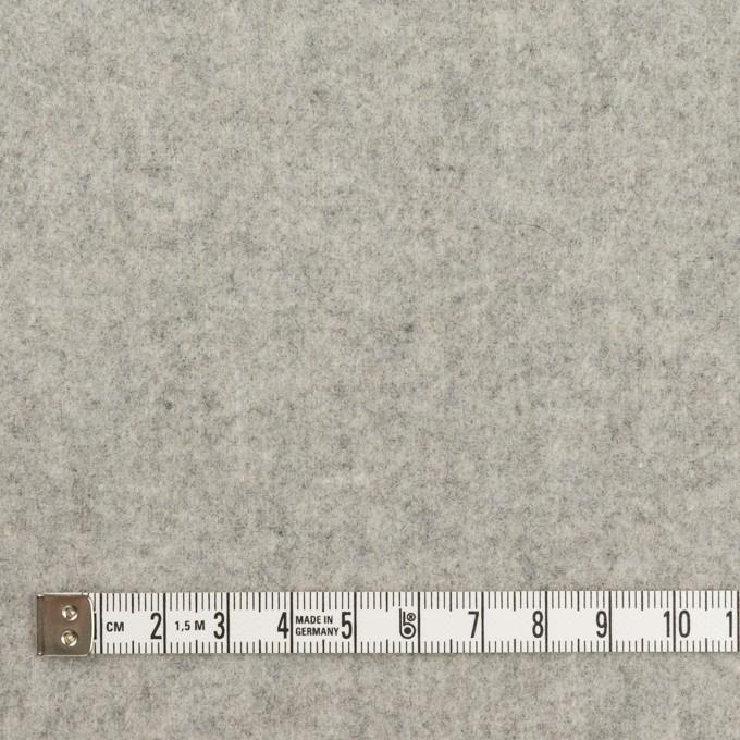 ウール×無地(グレー)×フラノ(フランネル) イメージ4