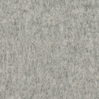 ウール&ナイロン×無地(グレー)×フラノ(フランネル)