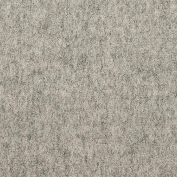 ウール×無地(グレー)×ソフトメルトン イメージ1