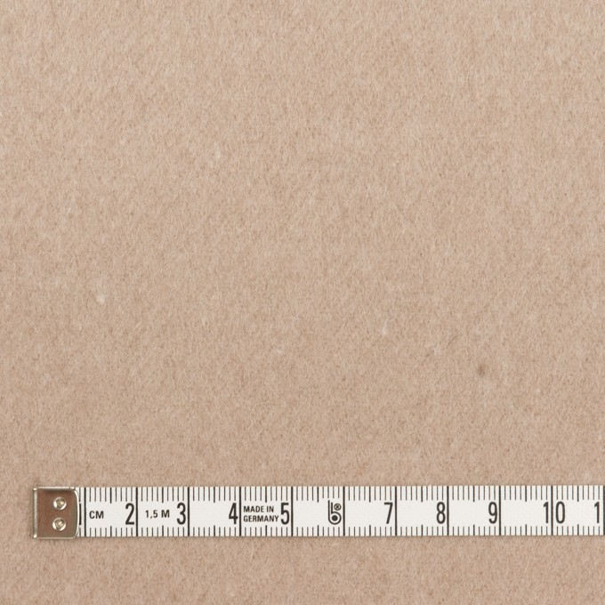 ウール×無地(オートミール)×フラノ(フランネル) イメージ4