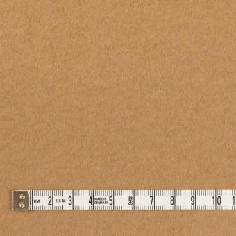 ウール&ナイロン×無地(チャイ)×ソフトメルトン サムネイル4
