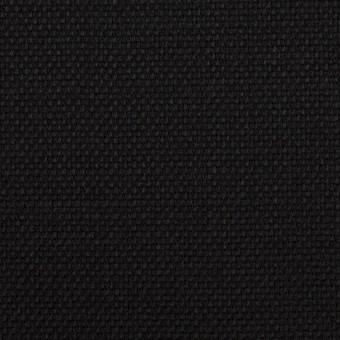 ウール×無地(ブラック)×斜子織 サムネイル1