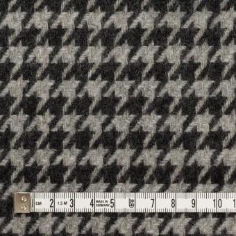 ウール&アンゴラ×チェック(グレー&チャコール)×千鳥格子 サムネイル4