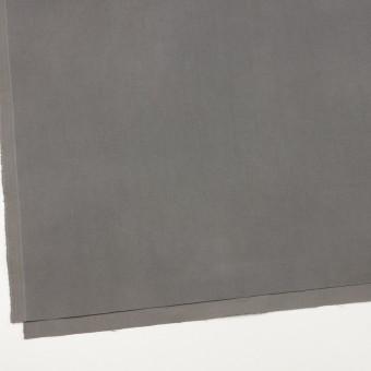 コットン&ポリウレタン×無地(グレー)×フランネル・ストレッチ サムネイル2