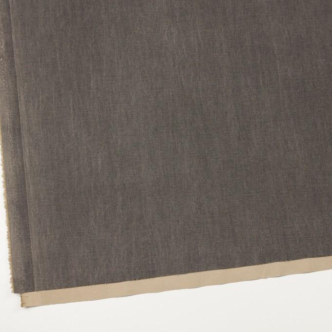 コットン&ポリウレタン×無地(アッシュグレー)×チノクロス・ストレッチ_イタリア製 イメージ2