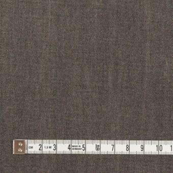 コットン&ポリウレタン×無地(アッシュグレー)×チノクロス・ストレッチ_イタリア製 サムネイル4