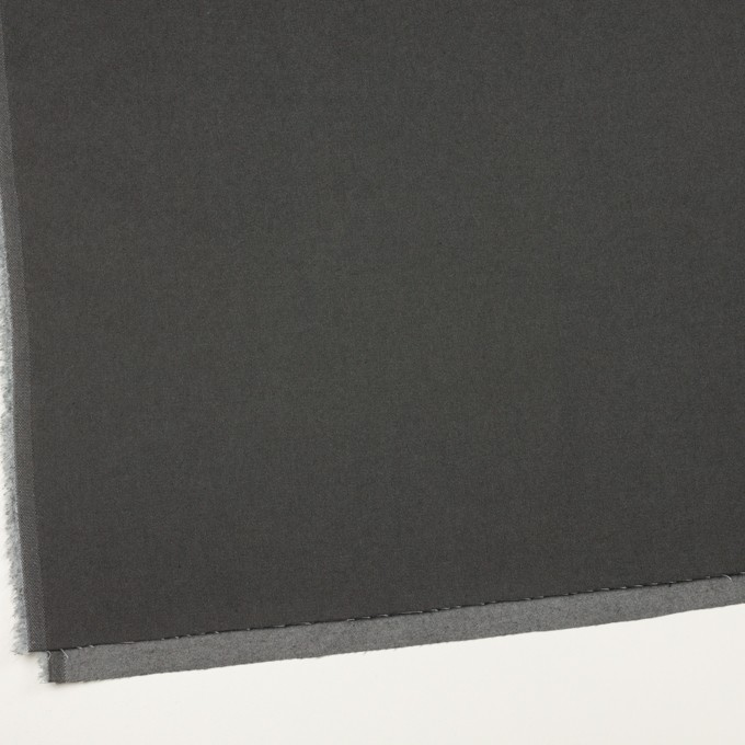 コットン&ウール混×無地(チャコールグレー)×チノクロス イメージ2