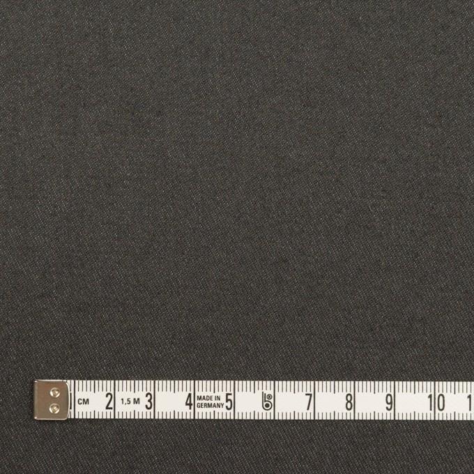 コットン&ウール混×無地(チャコールグレー)×チノクロス イメージ4