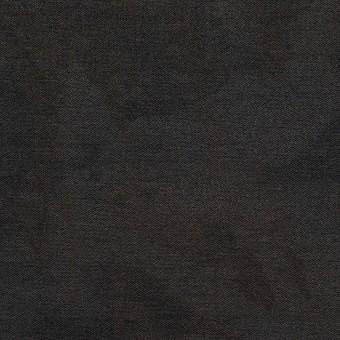 コットン&ナイロン混×ペイント(チャコール)×サージストレッチ