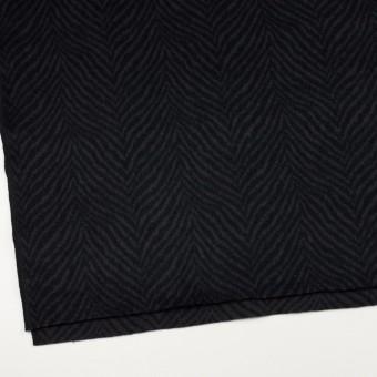 ウール&アンゴラ×ゼブラ(チャコール&ブラック)×ビーバー_全2色 サムネイル2