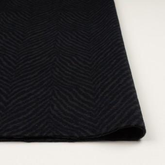 ウール&アンゴラ×ゼブラ(チャコール&ブラック)×ビーバー_全2色 サムネイル3