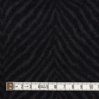 ウール&アンゴラ×ゼブラ(チャコール&ブラック)×ビーバー_全2色 サムネイル4