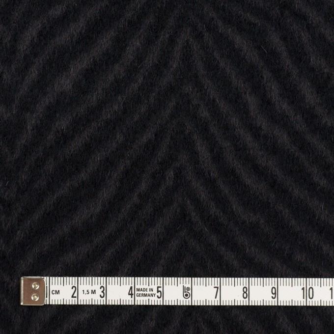 ウール&アンゴラ×ゼブラ(チャコール&ブラック)×ビーバー_全2色 イメージ4