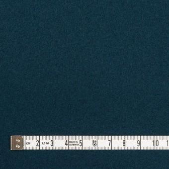 ウール×無地(インクブルー)×ソフトメルトン サムネイル4