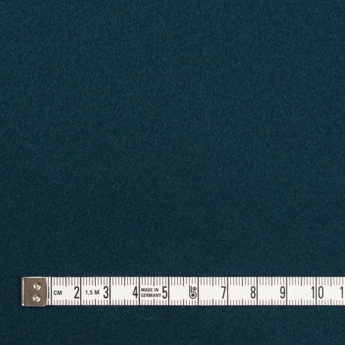 ウール×無地(インクブルー)×ソフトメルトン イメージ4
