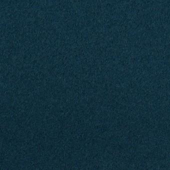 ウール×無地(インクブルー)×ソフトメルトン