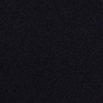 ウール×無地(ダークネイビー)×フラノ(フランネル) サムネイル1