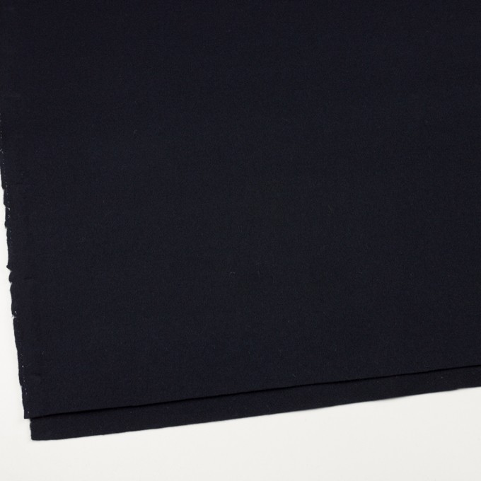 ウール&カシミア×無地(ダークネイビー)×ソフトメルトン イメージ2