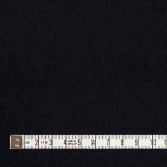 ウール&カシミア×無地(ダークネイビー)×ソフトメルトン サムネイル4