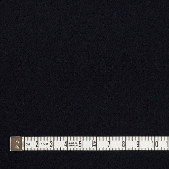 ウール&カシミア×無地(ダークネイビー)×ソフトメルトン イメージ4