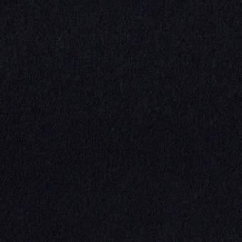 ウール&カシミア×無地(ダークネイビー)×ソフトメルトン