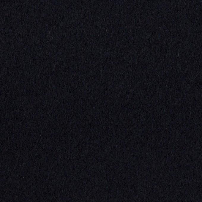 ウール&カシミア×無地(ダークネイビー)×ソフトメルトン イメージ1