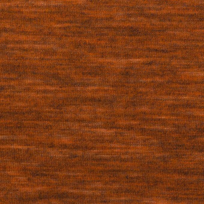 ウール&ナイロン×無地(レンガ)×天竺ニット_全2色 イメージ1