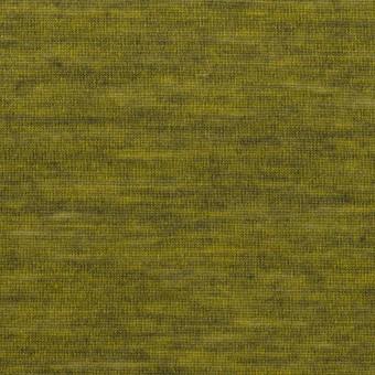 ウール&ナイロン×無地(ピクルス)×天竺ニット_全2色