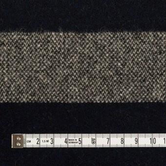 ウール×ボーダー(キナリ&ダークネイビー)×ツイード サムネイル4