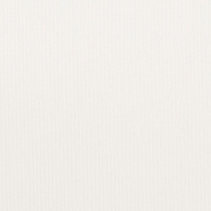 コットン&ポリエステル×無地(オフホワイト)×細コーデュロイ イメージ1