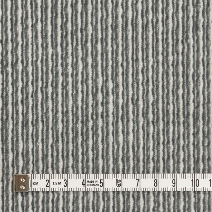 コットン×ミックス(オフホワイト&チャコールグレー)×太コーデュロイ イメージ4