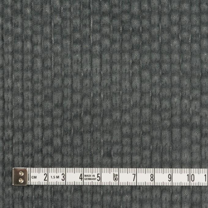 コットン×無地(チャコールグレー)×太コーデュロイ イメージ4