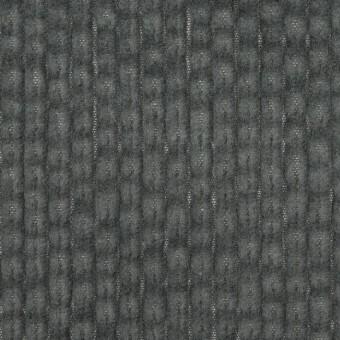 コットン×無地(チャコールグレー)×太コーデュロイ