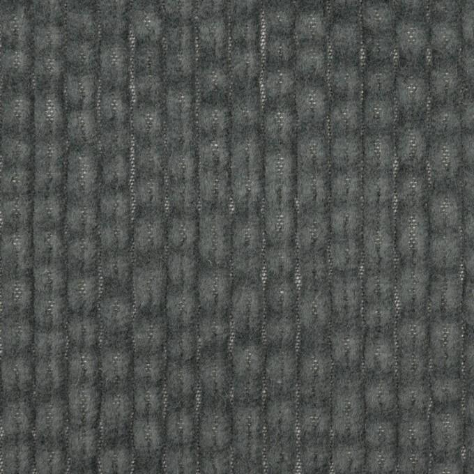 コットン×無地(チャコールグレー)×太コーデュロイ イメージ1