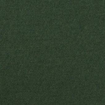 ウール×無地(モスグリーン)×圧縮ニット