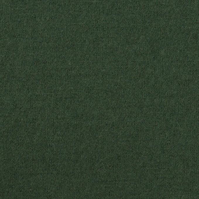 ウール×無地(モスグリーン)×圧縮ニット イメージ1
