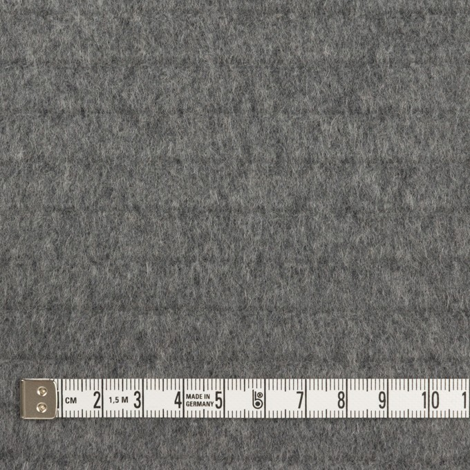 ウール×無地(グレー)×ビーバー_全2色 イメージ4