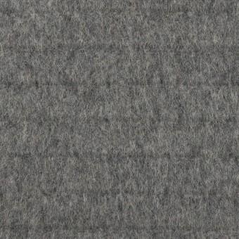 ウール×無地(グレー)×ビーバー_全2色