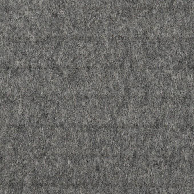 ウール×無地(グレー)×ビーバー_全2色 イメージ1