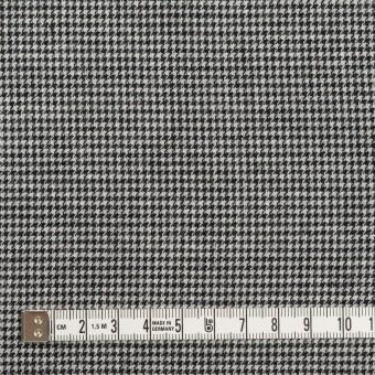 コットン×チェック(ブラック)×千鳥格子 サムネイル4