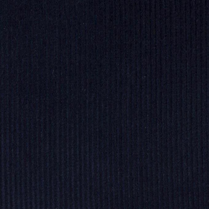 コットン×無地(ネイビー)×中細コーデュロイ イメージ1