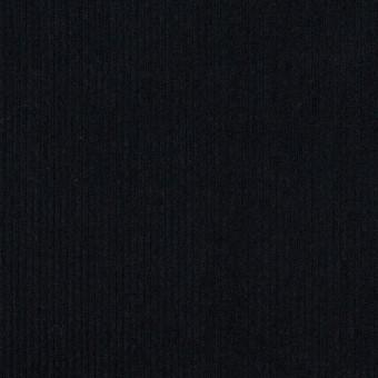 コットン×無地(ダークネイビー)×細コーデュロイ