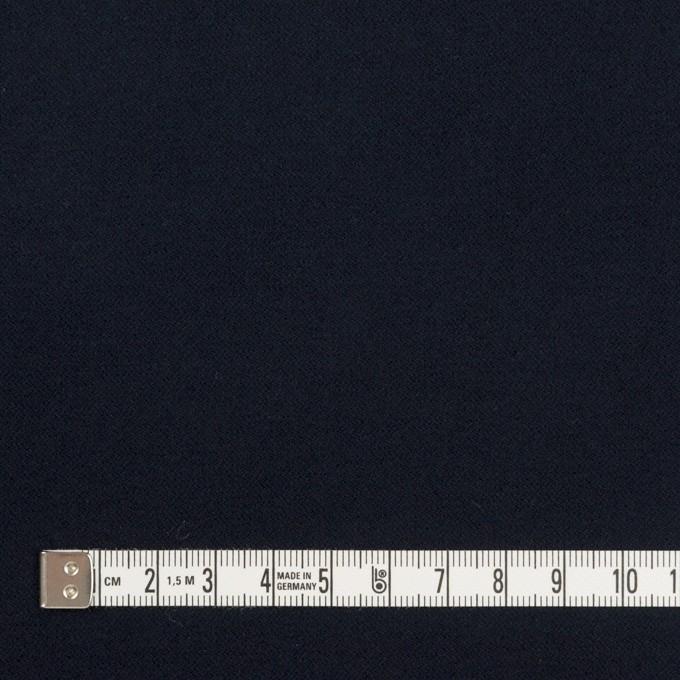 コットン&ポリウレタン×無地(ダークネイビー)×フランネル・ストレッチ イメージ4