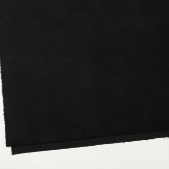 コットン&ポリウレタン×無地(ブラック)×モールスキン・ストレッチ サムネイル2
