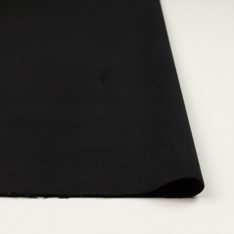 コットン&ポリウレタン×無地(ブラック)×モールスキン・ストレッチ サムネイル3