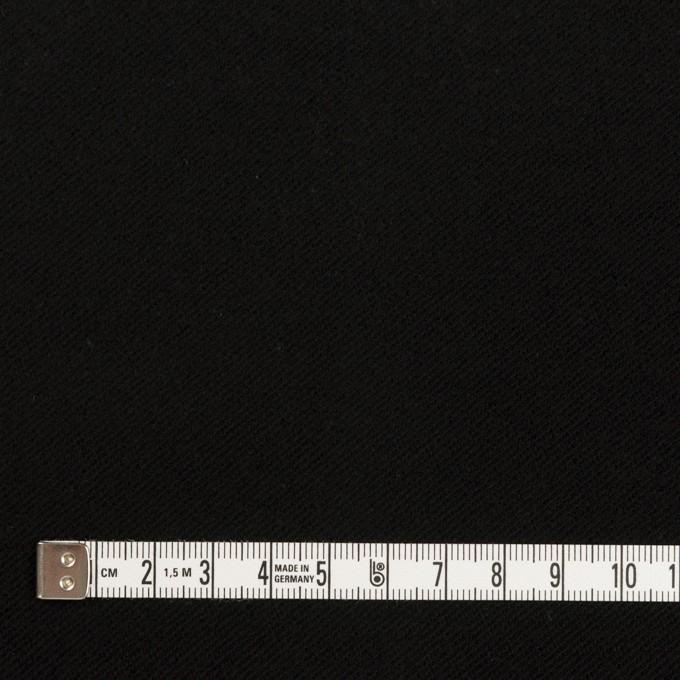 コットン&ポリウレタン×無地(ブラック)×モールスキン・ストレッチ イメージ4