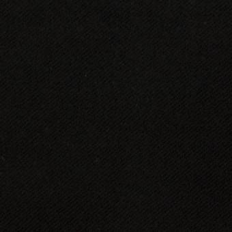 コットン&ポリウレタン×無地(ブラック)×モールスキン・ストレッチ